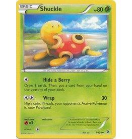 Pokemon Shuckle - 1/124 - Uncommon