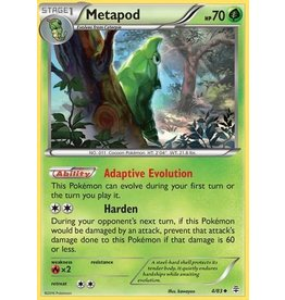 Pokemon Metapod - 4/83 - Uncommon