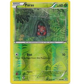 Pokemon Paras - 6/83 - Common - Reverse Holo