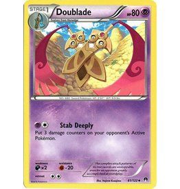 Pokemon Doublade - 61/122 - Uncommon