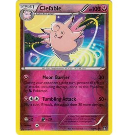 Pokemon Clefable - 82/122 - Rare - Reverse Holo