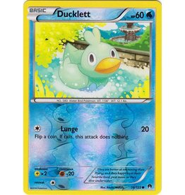 Pokemon Ducklett - 36/122 - Common - Reverse Holo