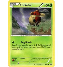 Pokemon Kricketot - 5/122 - Common