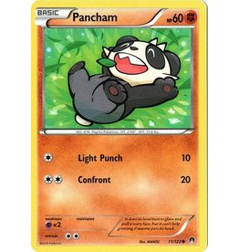 Pokemon Pancham - 71/122 - Common