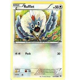 Pokemon Rufflet - 129/162 - Common
