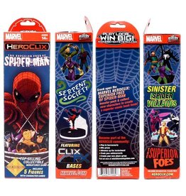 WizK!ds Heroclix - Marvel - Superior Foes of Spider-Man - Booster