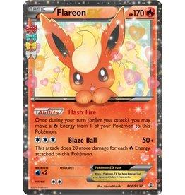 Pokemon Flareon-EX - RC6/RC32 - Holo Rare ex