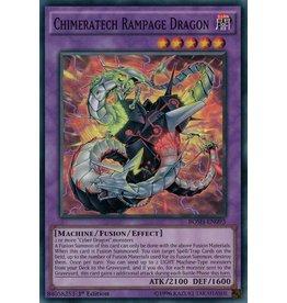 Konami Chimeratech Rampage Dragon - BOSH-EN093 - Super Rare