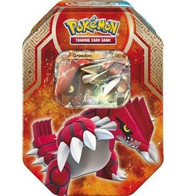Pokemon Pokemon - Legends of Hoenn Tin - Groudon-EX