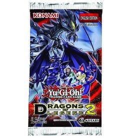 Konami YUGIOH - Dragons of Legend 2 - Booster Pack