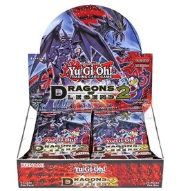Konami YUGIOH - Dragons of Legend 2 - Booster Box