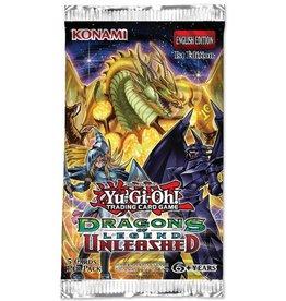 Konami YUGIOH - Dragons of Legend Unleashed - Booster Pack