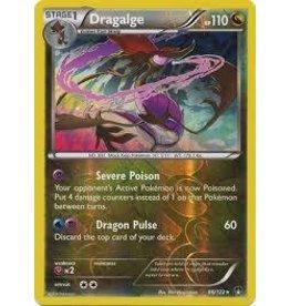 Pokemon Dragalge - 86/122 - Holo Rare - Reverse Holo