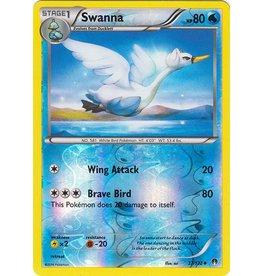 Pokemon Swanna - 37/122 - Uncommon - Reverse Holo