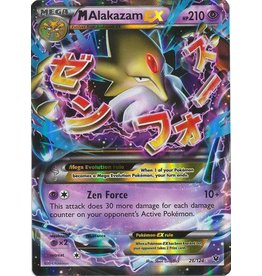 Pokemon Mega Alakazam-EX - 26/124 - Rare