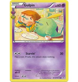 Pokemon Gulpin - RC12/RC32 - Common
