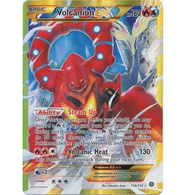 Pokemon Volcanion EX - 115/114 - Secret Rare