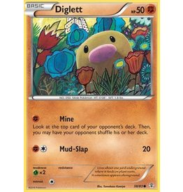 Pokemon Diglett - 38/83 - Common
