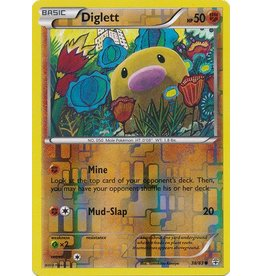 Pokemon Diglett - 38/83 - Common - Reverse Holo