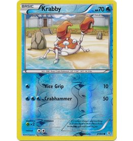 Pokemon Krabby - 21/83 - Common - Reverse Holo
