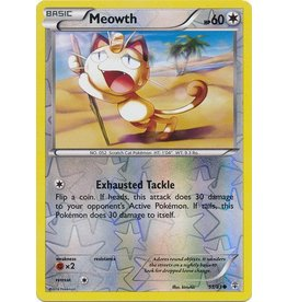Pokemon Meowth - 53/83 - Common - Reverse Holo