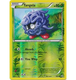 Pokemon Tangela - 8/83 - Common - Reverse Holo