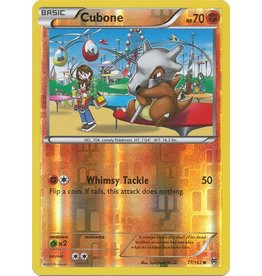Pokemon Cubone - 77/162 - Common Reverse Holo