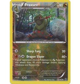 Pokemon Fraxure - 110/162 - Uncommon Reverse Holo