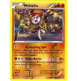 Pokemon Meloetta - 85/162 - Rare Reverse Holo