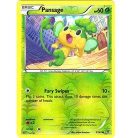 Pokemon Pansage - 5/162 - Common Reverse Holo