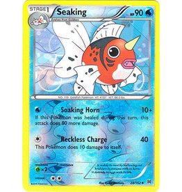Pokemon Seaking - 28/162 - Uncommon Reverse Holo