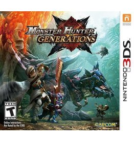 Capcom Monster Hunter Generations - 3DS