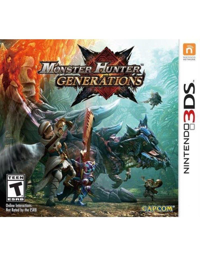 Capcom Monster Hunter Generations - 3DS