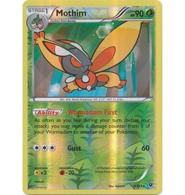 Pokemon Mothim - 4/124 - Rare Reverse Holo