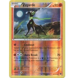Pokemon Zygarde - 52/124 - Uncommon Reverse Holo