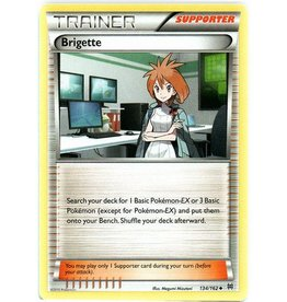 Pokemon Brigette - 134/162 - Uncommon