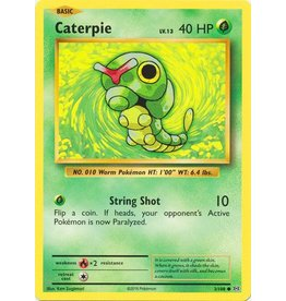 Pokemon Caterpie - 3/108 - Common