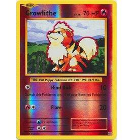 Pokemon Growlithe - 17/108 - Common Reverse Holo