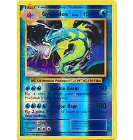Pokemon Gyarados - 34/108 - Holo Rare Reverse Holo