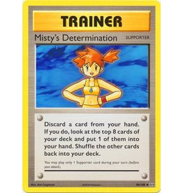 Pokemon Misty's Determination - 80/108 - Uncommon