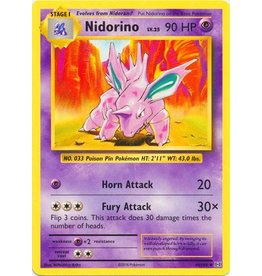 Pokemon Nidorino - 44/108 - Uncommon