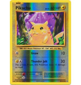 Pokemon Pikachu - 35/108 - Common Reverse Holo
