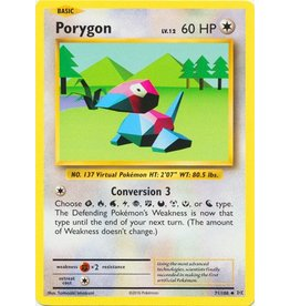 Pokemon Porygon - 71/108 - Uncommon