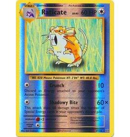 Pokemon Raticate - 67/108 - Rare Reverse Holo