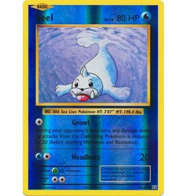 Pokemon Seel - 28/108 - Common Reverse Holo