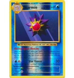 Pokemon Starmie - 31/108 - Rare Reverse Holo