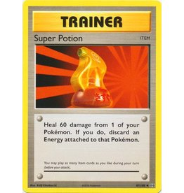 Pokemon Super Potion - 87/108 - Uncommon