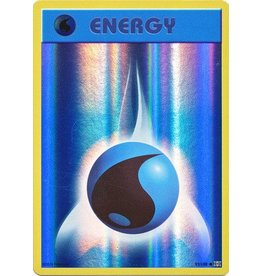 Pokemon Water Energy - 93/108 - Common Reverse Holo