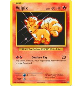 Pokemon Vulpix - 14/108 - Common