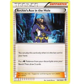 Pokemon Archie's Ace in the Hole - 124/160 - Uncommon
